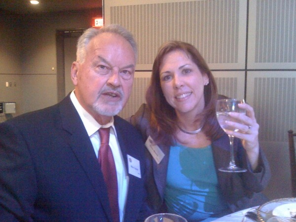 Federal News Radio's Mike Causey and Amy Morris