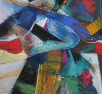 Corvin-díjas festőművész kiállítása Kesztölcön