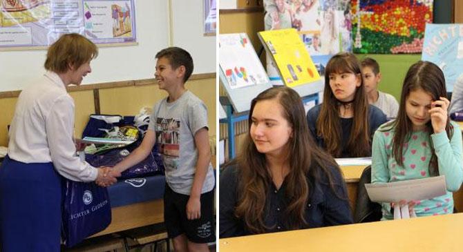 Természettudományi versenyen vettek részt a dorogi diákok