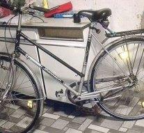 Rabolni ment, a kerékpárját viszont ottfelejtette