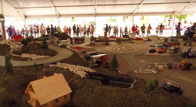 Légi videó a dorogi gyermeknapról