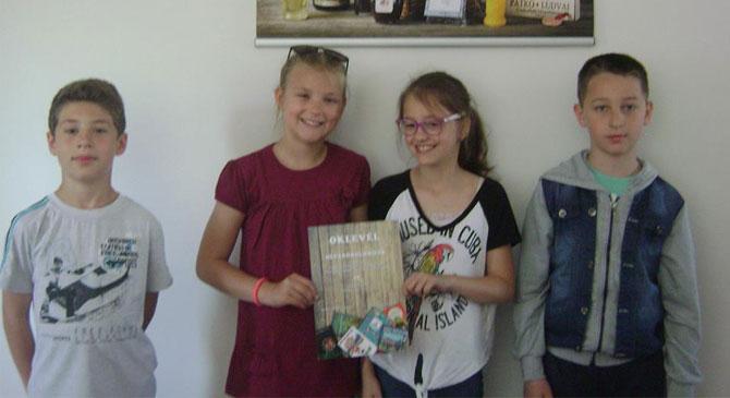 A dorogi és leányvári könyvimádó gyermekek versenyeztek