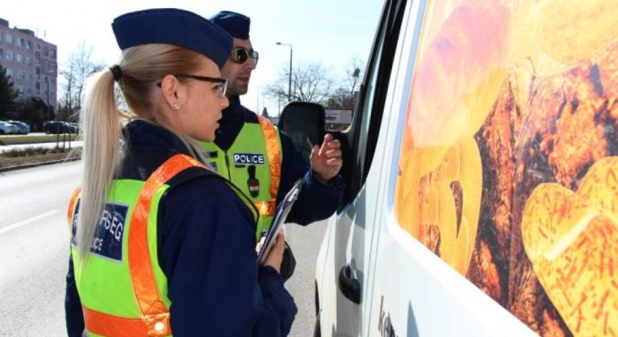 10 sofőrt kapcsoltak le térségünk rendőrei