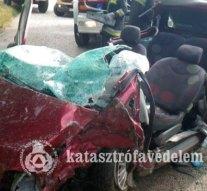 Súlyos baleset Páty és Zsámbék között