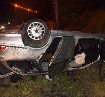Súlyosan megsérült egy autós Tokodaltáró és Dorog között