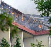 Kigyulladt egy használaton kívüli hotel Dobogókőn