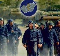Katonai toborzó Esztergomban