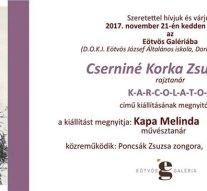 Cserniné Korka Zsuzsanna kiállítása