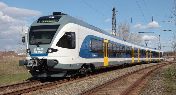 Jövő héttől az új menetrend mellett a Flirt vonatok is megjelennek