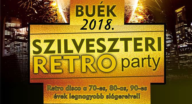 Szilveszteri Retro Party Dorogon