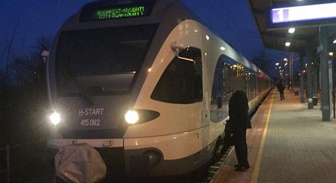 Flirt vonat várta reggel az utasokat