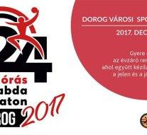 24 órás kézilabda maraton Dorogon