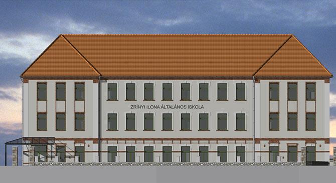 Energetikai korszerűsítés a Zrínyi Ilona Általános Iskolában