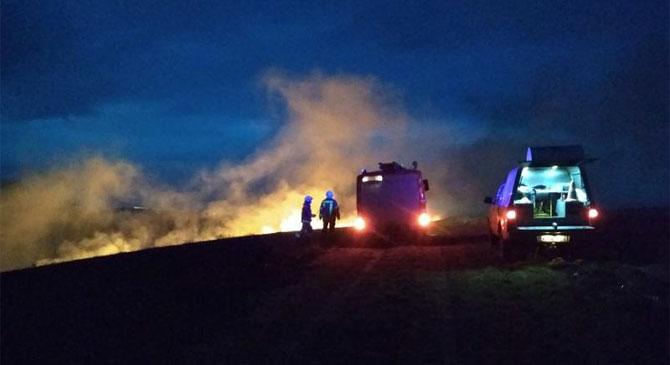 Dorogra és Sárisápra is avartűzhöz riasztották a tűzoltókat