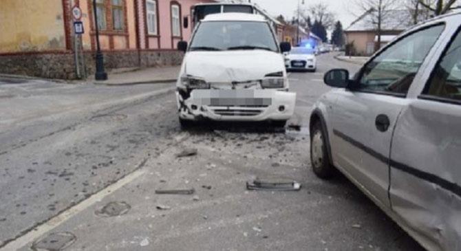 Egy 71 éves nő okozott balesetet Esztergomban