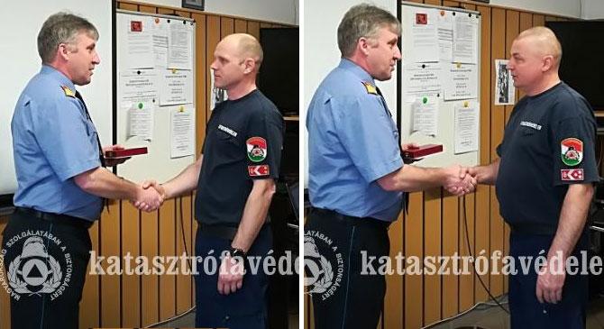 Szolgálati jeleket adtak át Esztergomban