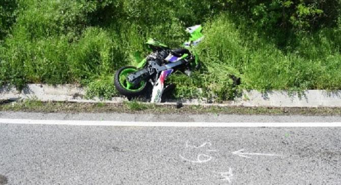 Motorbaleset Bajna térségében