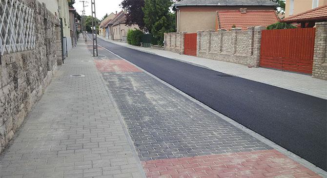 Elkészült a Bimbó utca