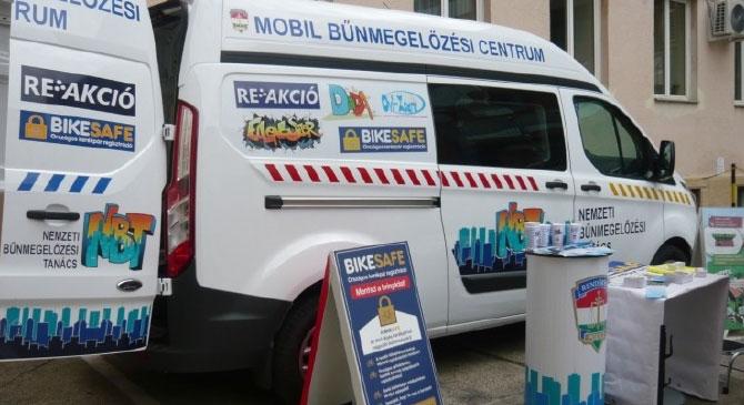 Mobil Bűnmegelőzési Centrum érkezik térségünkbe
