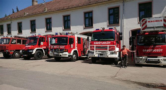 150 éves az Esztergomi Tűzoltóság