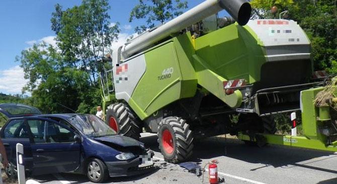 Nem mindennapi közlekedési baleset történt Bajna közelében