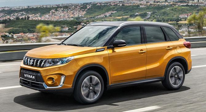 A Suzuki továbbfejlesztette sikermodelljét, a Vitarát