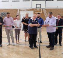 Felújították az esztergom-kertvárosi iskola tornatermét