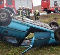 Fotók a nagysápi balesetről
