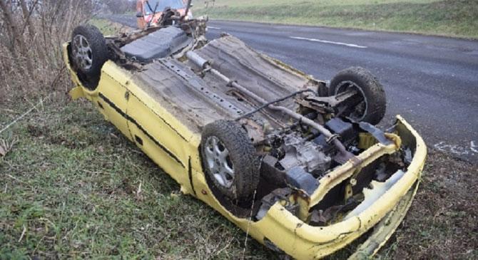 1111-es úton szenvedett balesetet