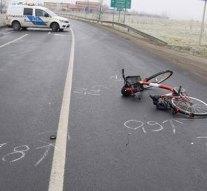 Képek a táti kerékpáros balesetről