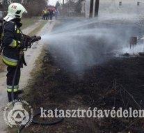 Szabadtéri tüzekhez siettek térségünk tűzoltói
