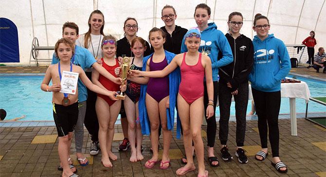 Dorogi sikerek a megyei úszó körversenyen