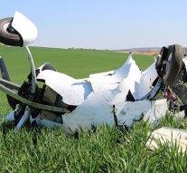 Földbe csapódott egy girokopter, a pilóta belehalt a sérüléseibe