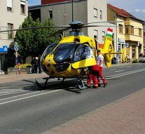 Ismét mentőhelikopter érkezett Dorogra – VIDEÓVAL