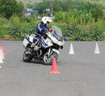 Esztergomban versenyeztek a rendőrök