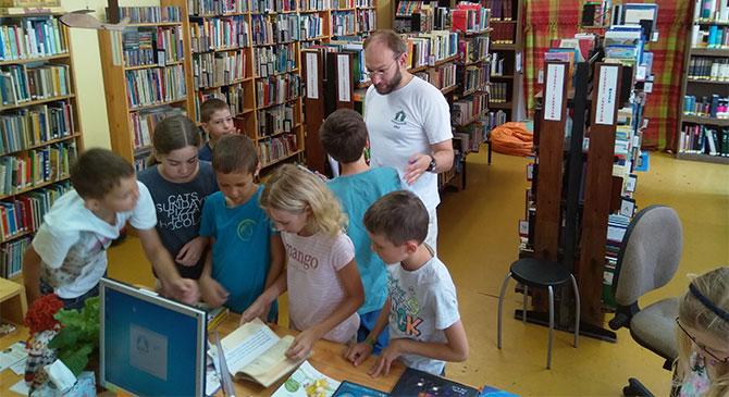 Nyári olvasótábort szerveztek az esztergomi könyvtárban
