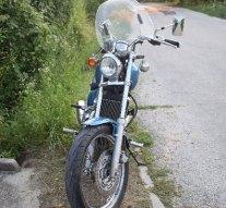 Motorkerékpárjával borult fel Esztergomban