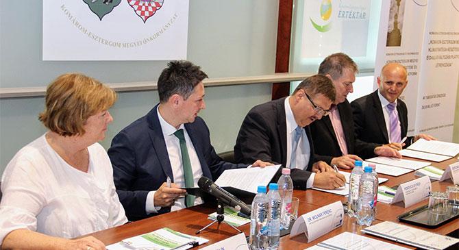 Az országban az elsők között indul el a Komárom-Esztergom Megyei Virtuális Erőmű Program