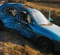 Teherautó és személygépkocsi ütközött Kesztölcnél