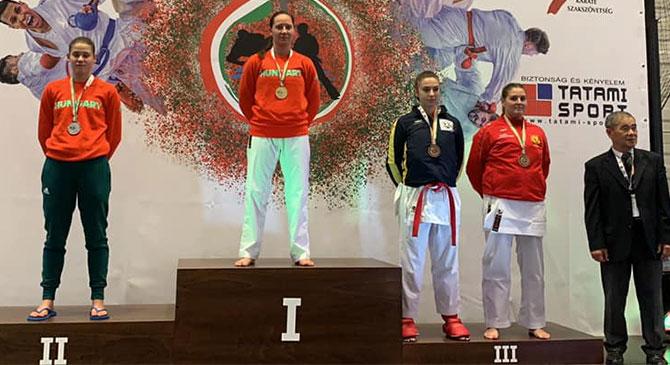 Ötödik alkalommal lett Európa-bajnok Szabó Evelin