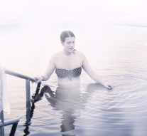 Jeges fürdőzést rendeznek a dorogi birkózók