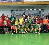 Emléktornákon remekeltek a dorogi focisták