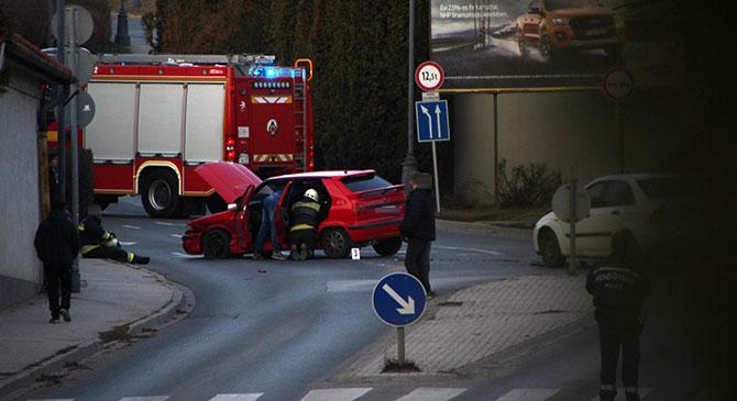 Két autó ütközött össze Esztergomban