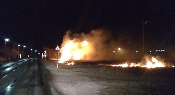 Sok feladatot adott az éjszakai viharos szél a tűzoltóknak