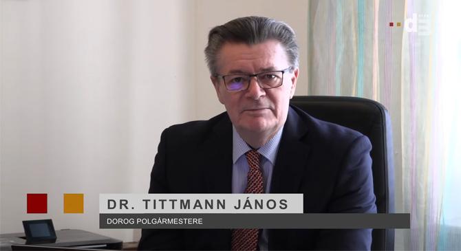 Rendkívüli videóüzenet Dr. Tittmann Jánostól