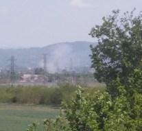 Aljnövényzet égett Esztergom-Kertvárosban
