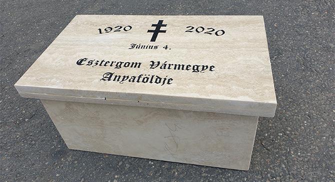 Esztergom vármegye települései közösen állítanak emléket Trianonnak