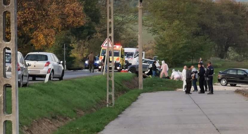 Halálos baleset történt Tarján közelében