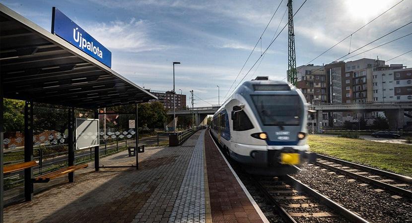 Új elővárosi járat a 2-es vasútvonalon