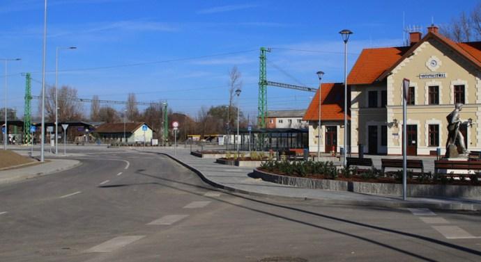 Január 16-ától üzembe helyezik az új dorogi autóbusz-megállót